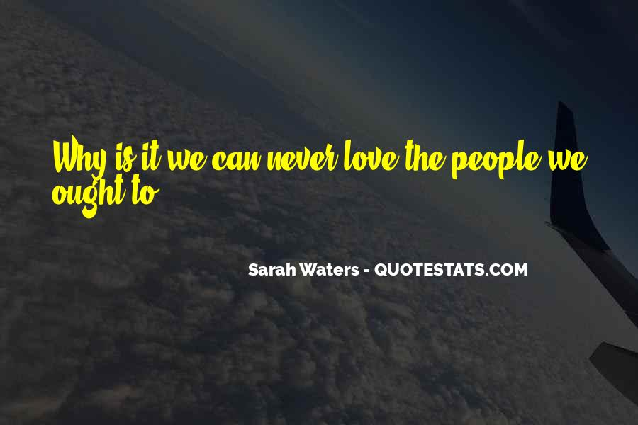 Sarah Waters Quotes #350580