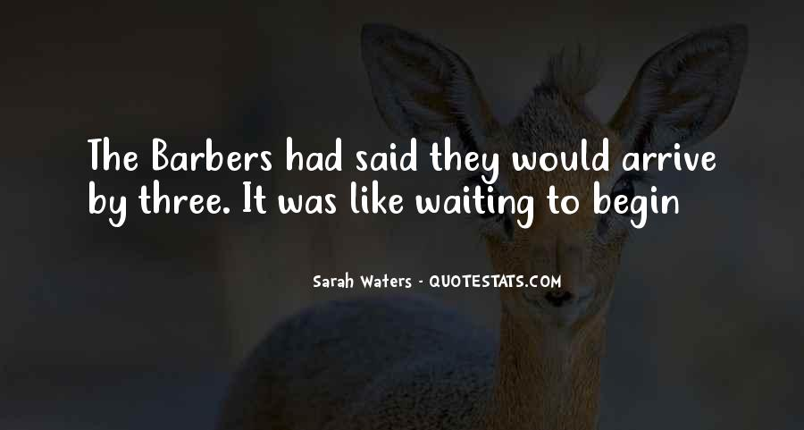Sarah Waters Quotes #454813