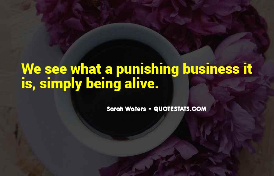 Sarah Waters Quotes #728856