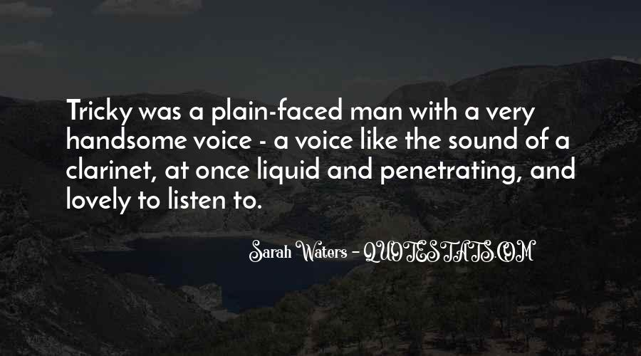 Sarah Waters Quotes #823867