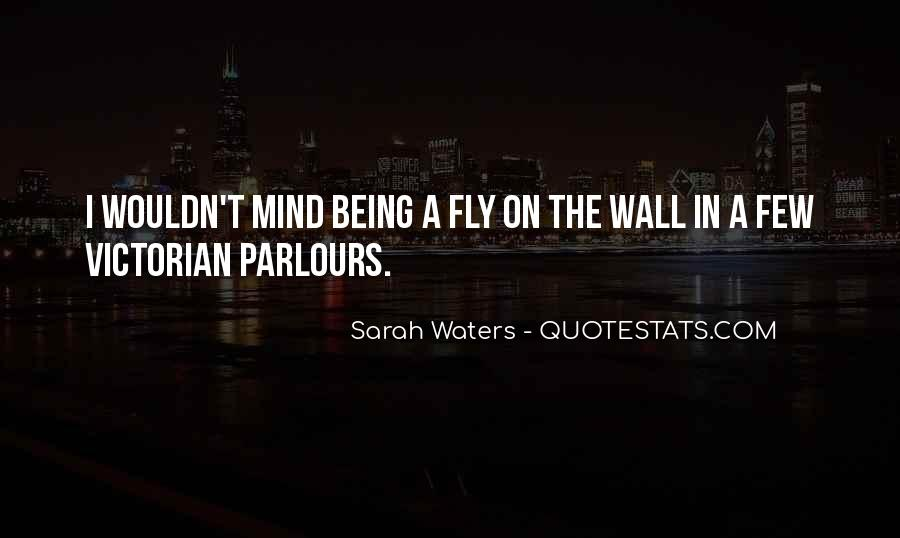 Sarah Waters Quotes #958503