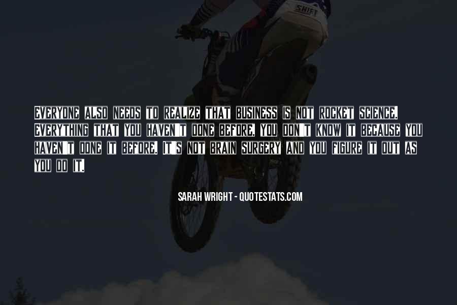 Sarah Wright Quotes #1762230