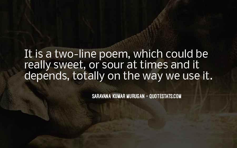 Saravana Kumar Murugan Quotes #1145314