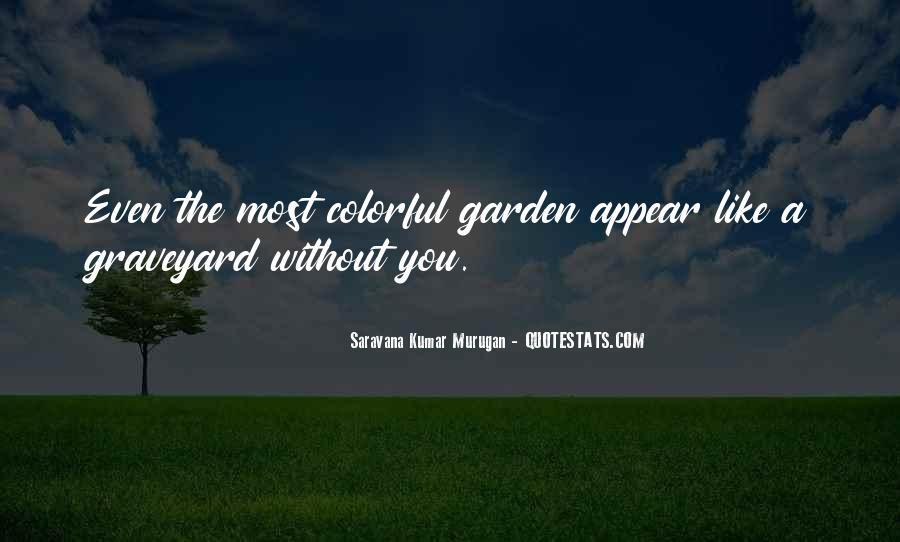 Saravana Kumar Murugan Quotes #88072