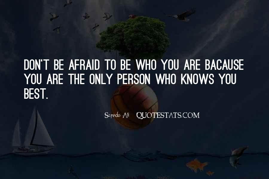 Saredo Ali Quotes #1627781