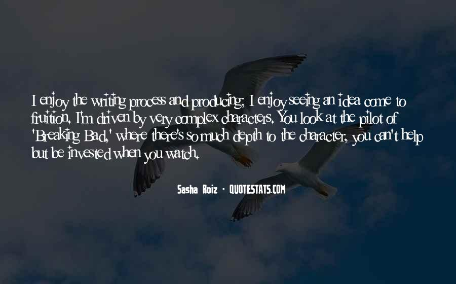 Sasha Roiz Quotes #727779