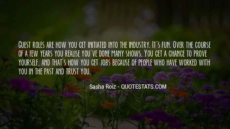 Sasha Roiz Quotes #785639