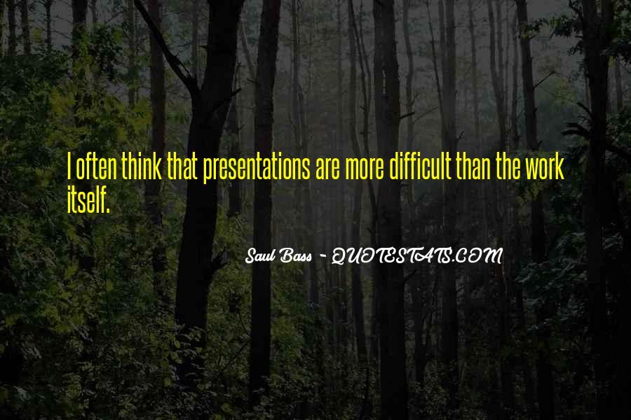 Saul Bass Quotes #1351606