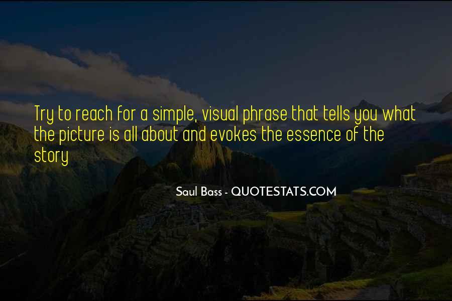Saul Bass Quotes #599262