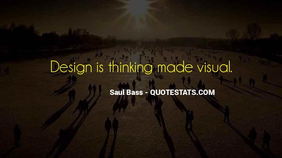 Saul Bass Quotes #959328
