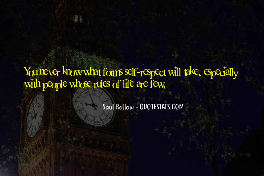 Saul Bellow Quotes #1541245