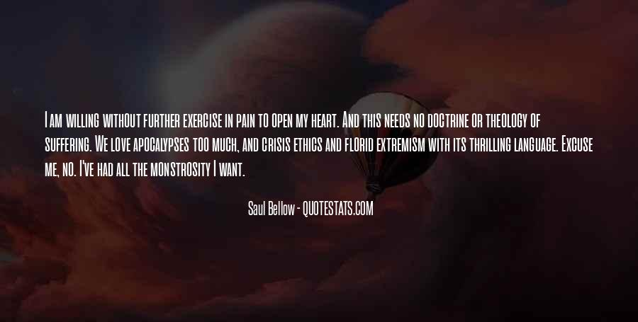 Saul Bellow Quotes #1770588