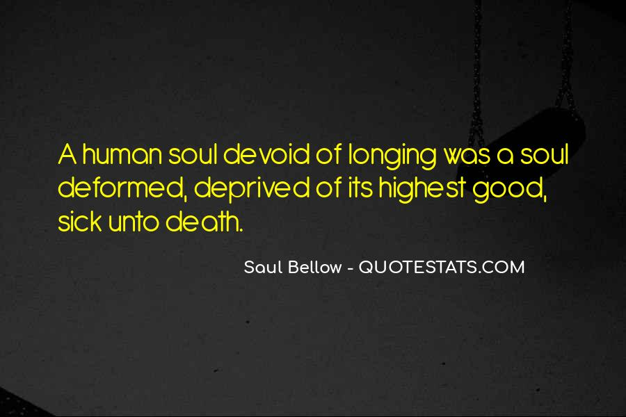 Saul Bellow Quotes #179309