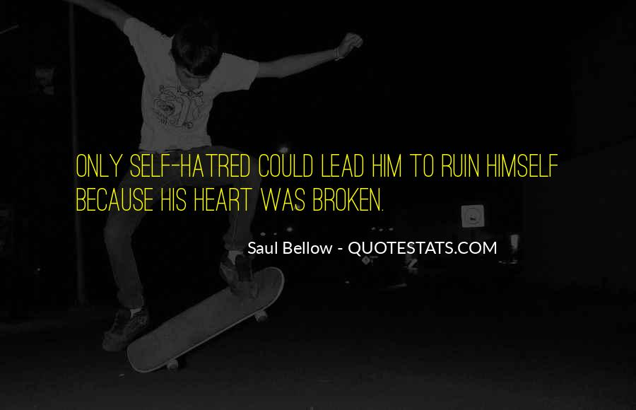 Saul Bellow Quotes #848139