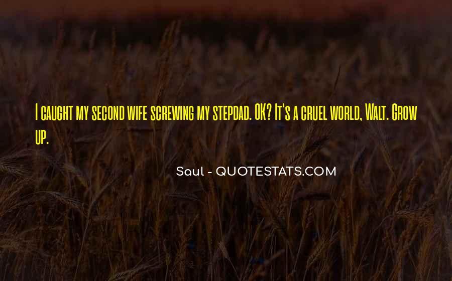 Saul Quotes #1226356