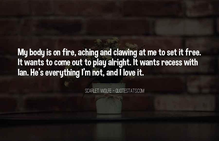 Scarlet Wolfe Quotes #1137858