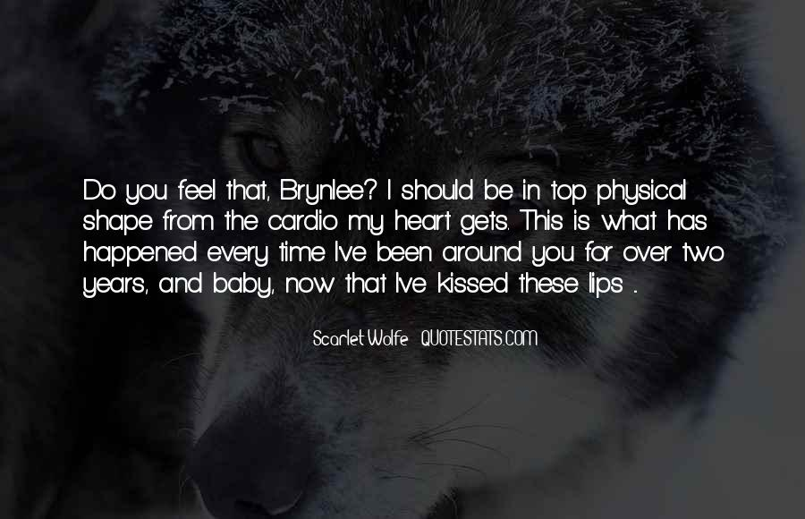 Scarlet Wolfe Quotes #1801750