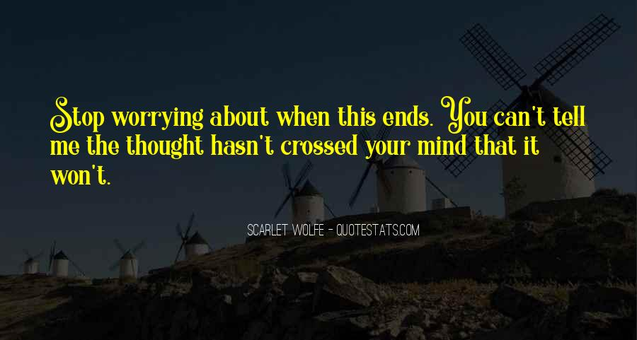 Scarlet Wolfe Quotes #661331