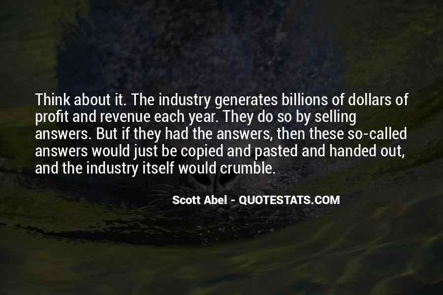 Scott Abel Quotes #38997