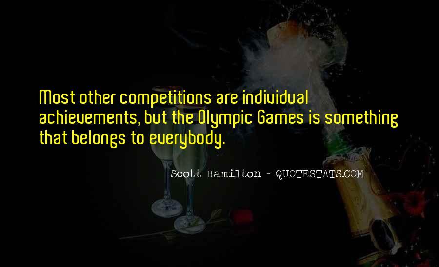 Scott Hamilton Quotes #1468244