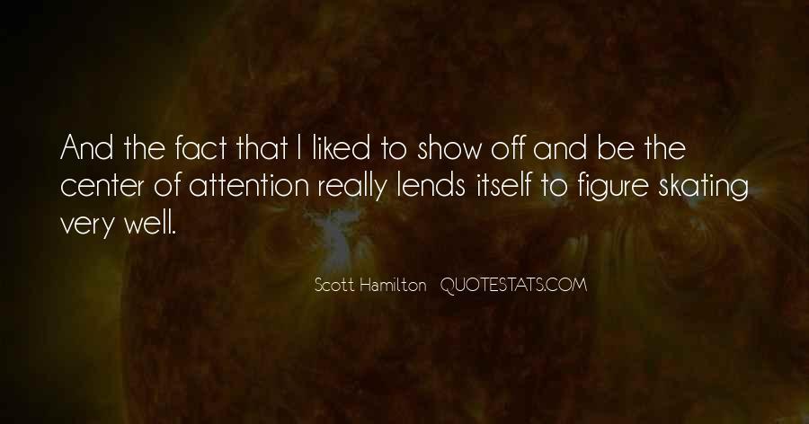 Scott Hamilton Quotes #1562489