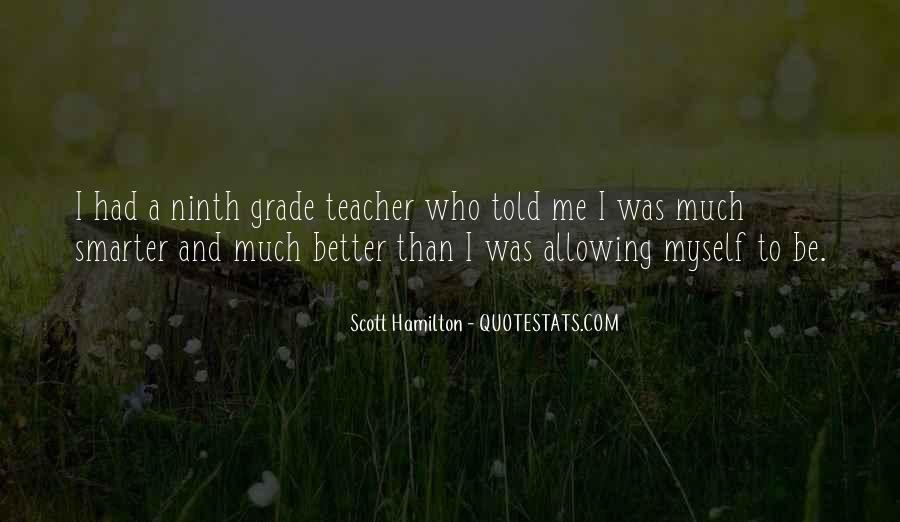 Scott Hamilton Quotes #471215
