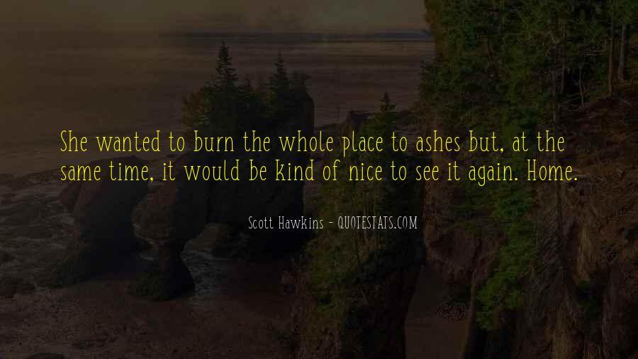 Scott Hawkins Quotes #1359596
