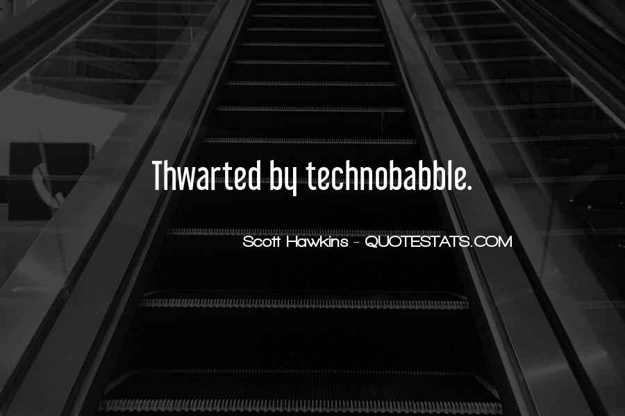 Scott Hawkins Quotes #1394791