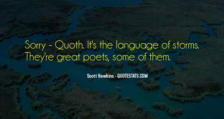 Scott Hawkins Quotes #712654