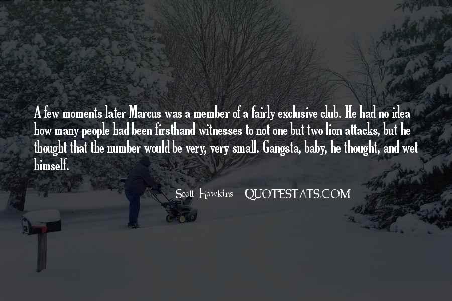 Scott Hawkins Quotes #820071