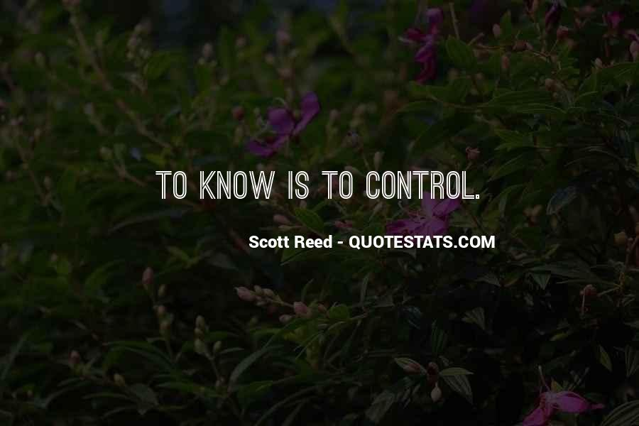 Scott Reed Quotes #768476
