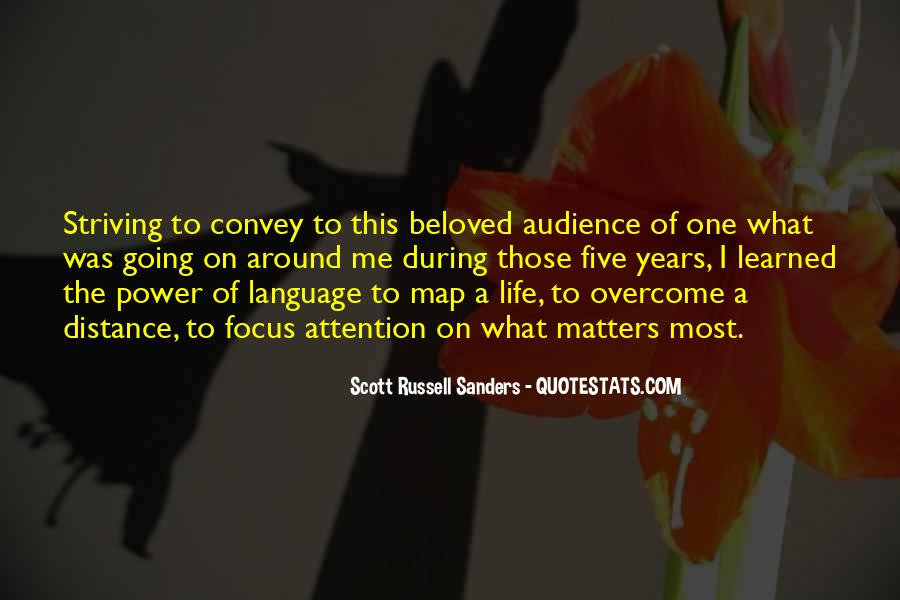Scott Russell Sanders Quotes #1066493