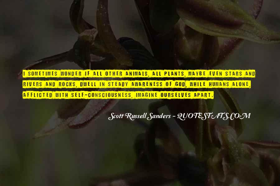Scott Russell Sanders Quotes #1066821