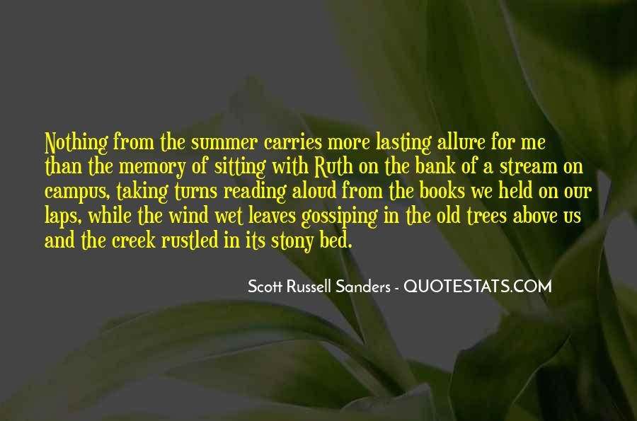 Scott Russell Sanders Quotes #1098419