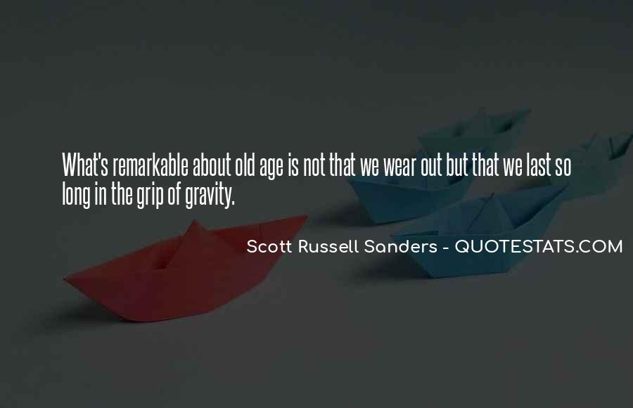 Scott Russell Sanders Quotes #524296
