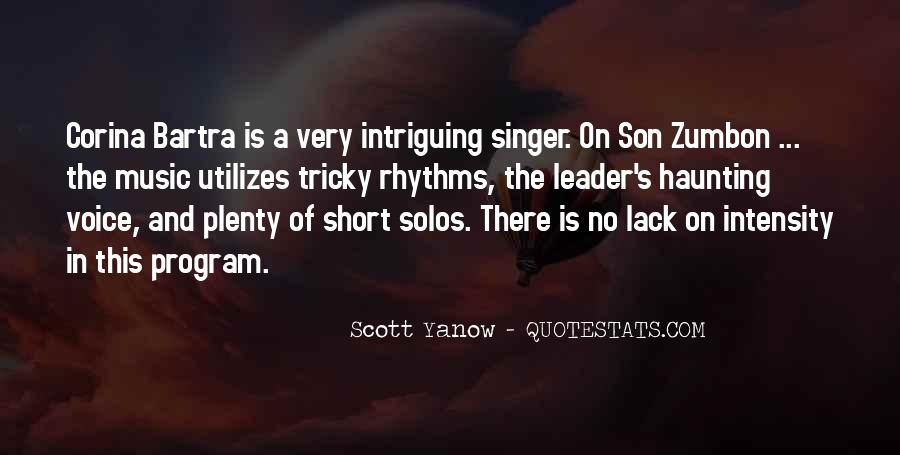 Scott Yanow Quotes #9538