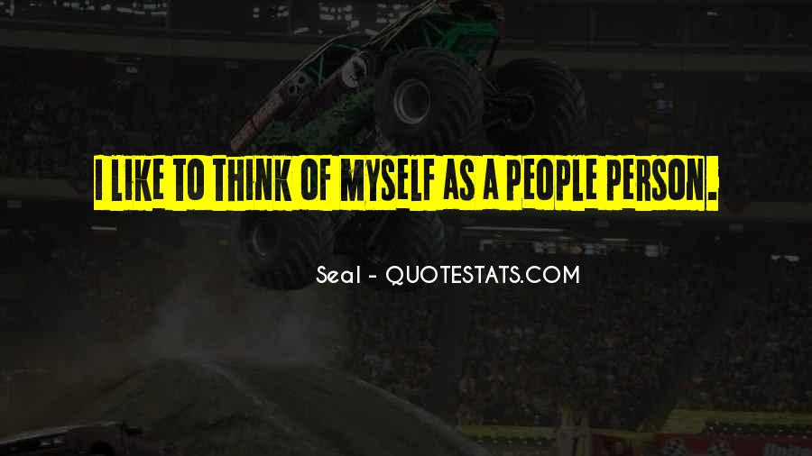 Seal Quotes #1281581