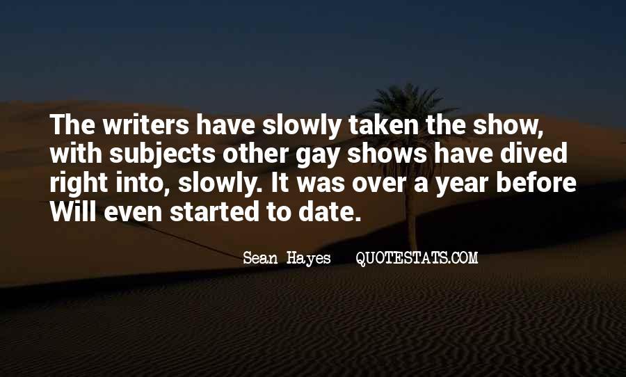 Sean Hayes Quotes #988715