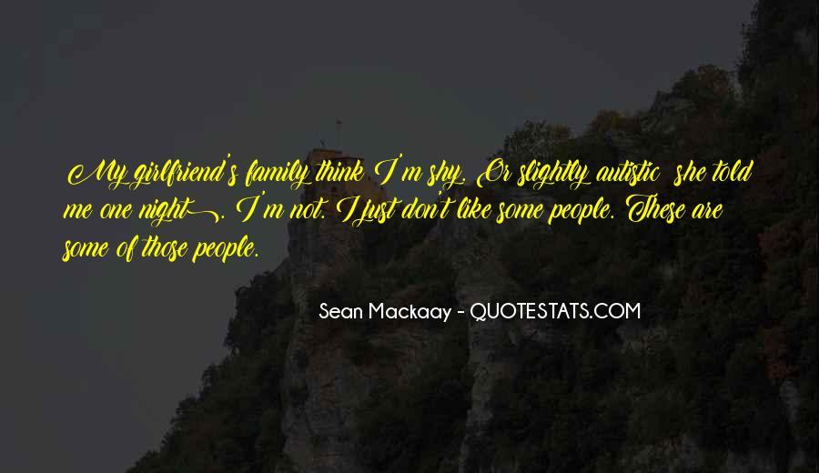 Sean Mackaay Quotes #1049887