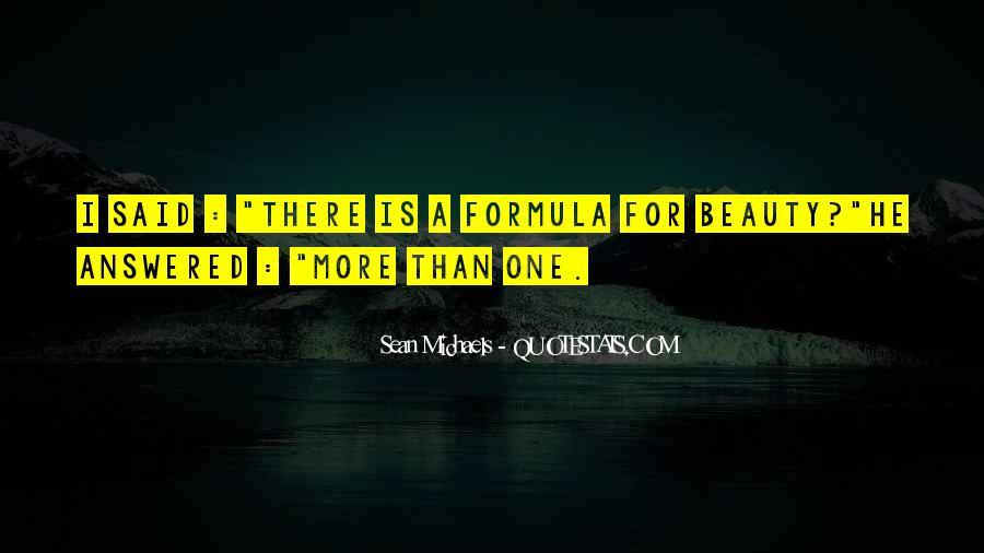 Sean Michaels Quotes #1605976