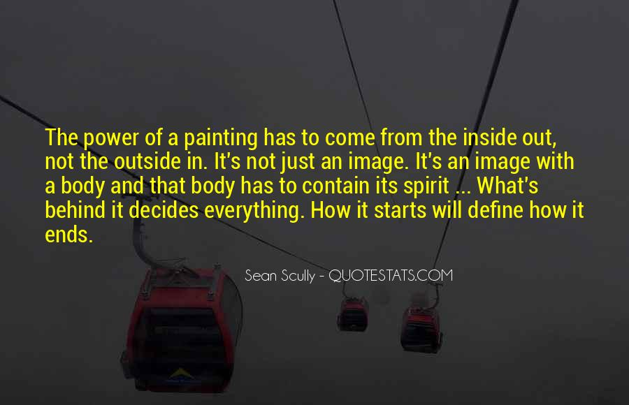 Sean Scully Quotes #991026