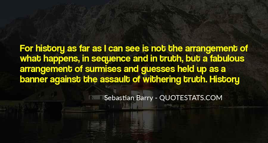 Sebastian Barry Quotes #1177554