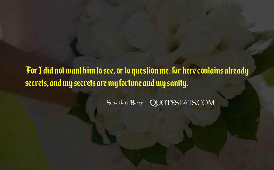 Sebastian Barry Quotes #1622454