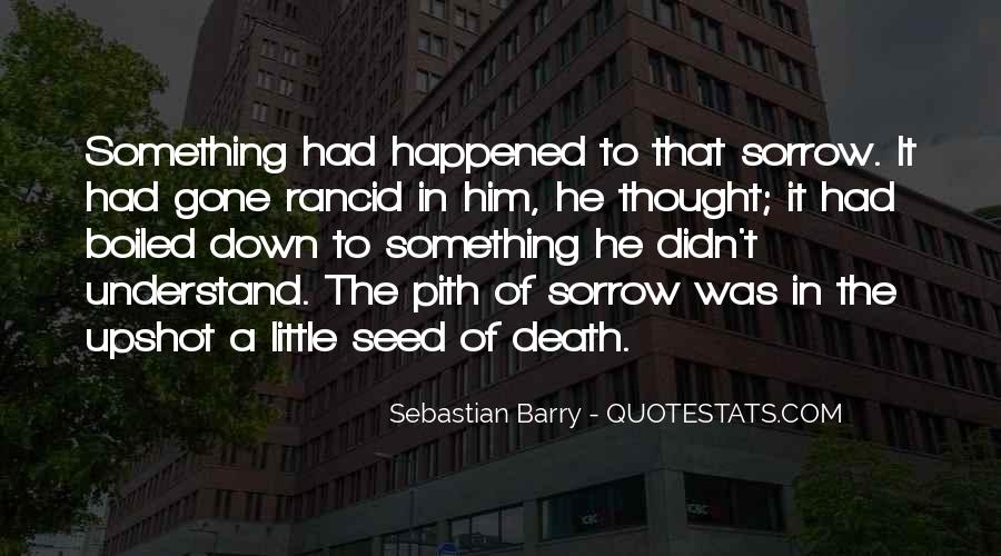 Sebastian Barry Quotes #1856937