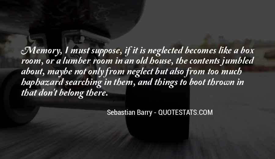 Sebastian Barry Quotes #284629
