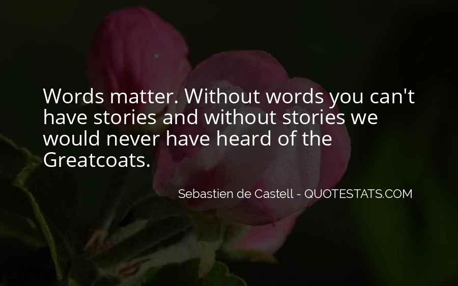 Sebastien De Castell Quotes #1766516