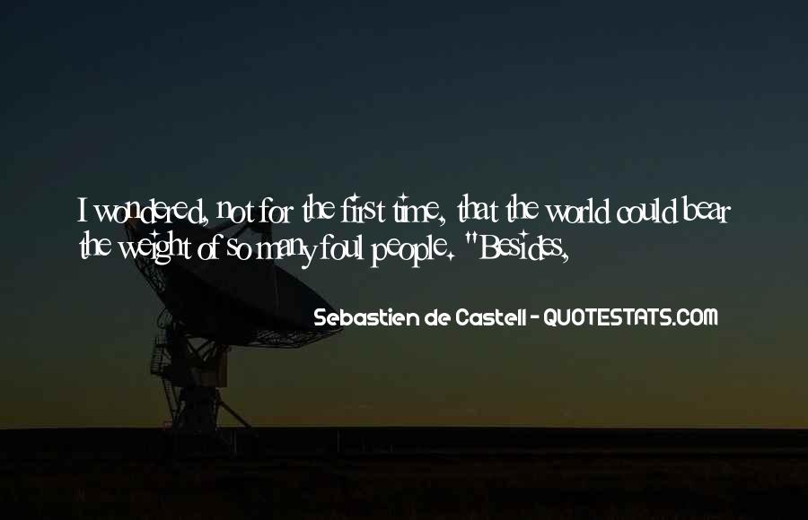 Sebastien De Castell Quotes #932078