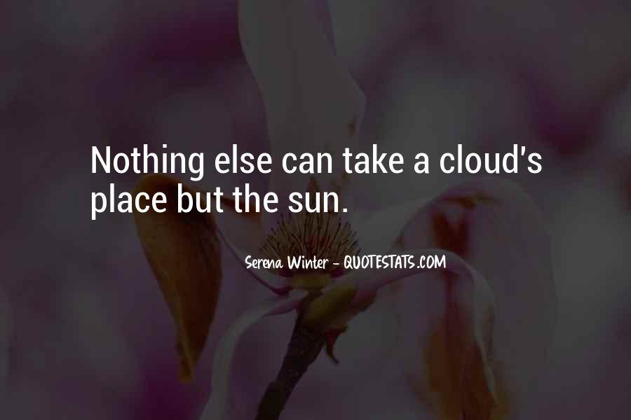 Serena Winter Quotes #1289826