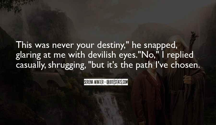 Serena Winter Quotes #1727008