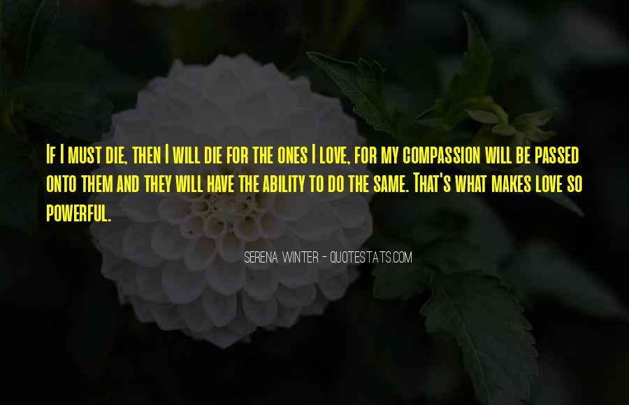 Serena Winter Quotes #1848701